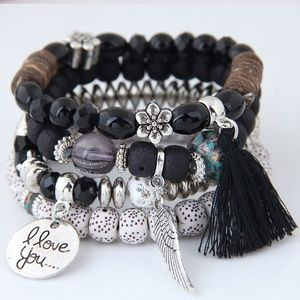 Alloy Fashion Bracelet 5 Sets